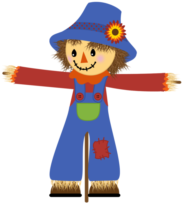 630x700 Scarecrow Clipart Friendly