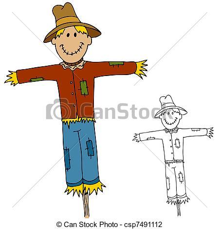 450x470 Straw Scarecrow Clipart, Explore Pictures