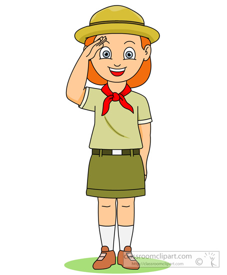 454x550 Free Girl Scout Clip Art Pictures