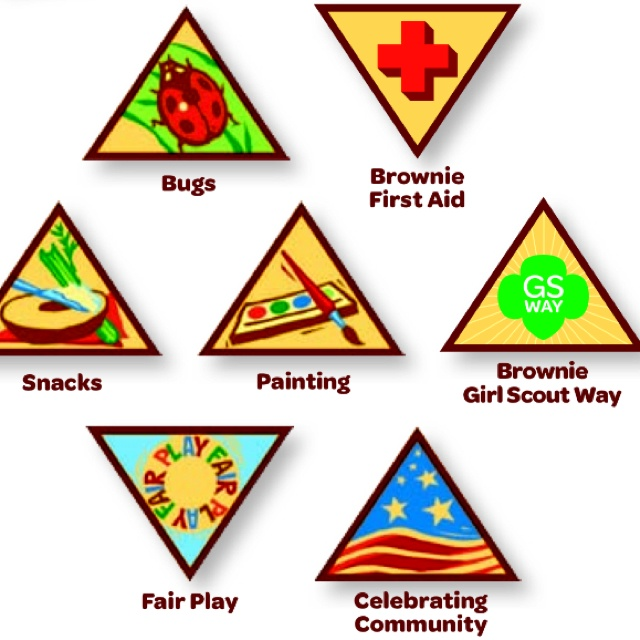 640x640 Girl Scout Badge Clipart