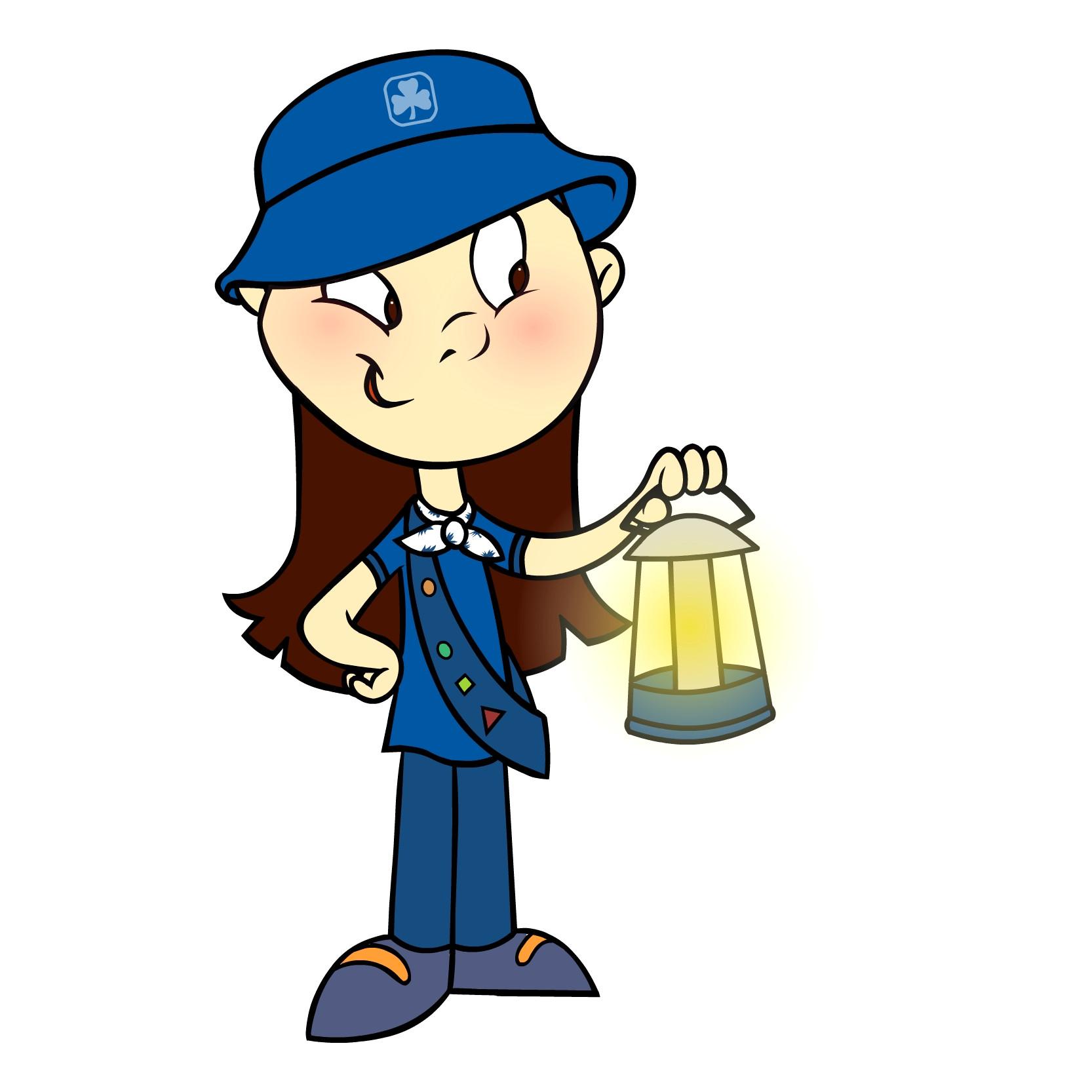 1666x1666 Dah Brownie Girl Scouts Clip Art