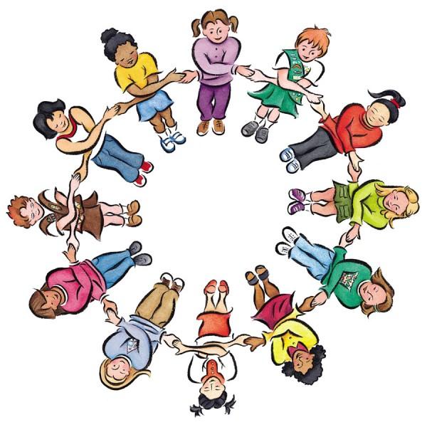 600x600 Friendship Circle Clip Art