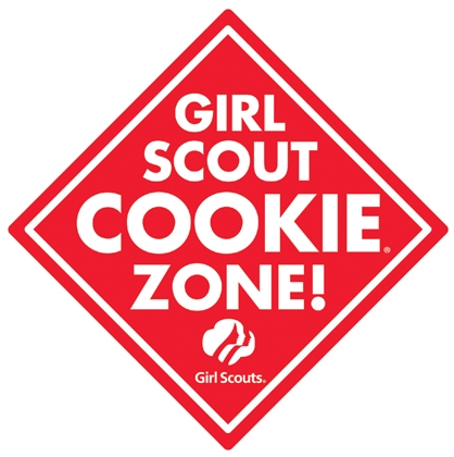 418x420 Girl Scout Cookie Clipart