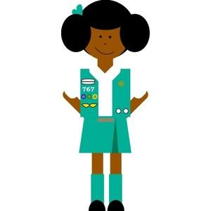 300x300 Girl Scout Clip Art Juniors Clipart