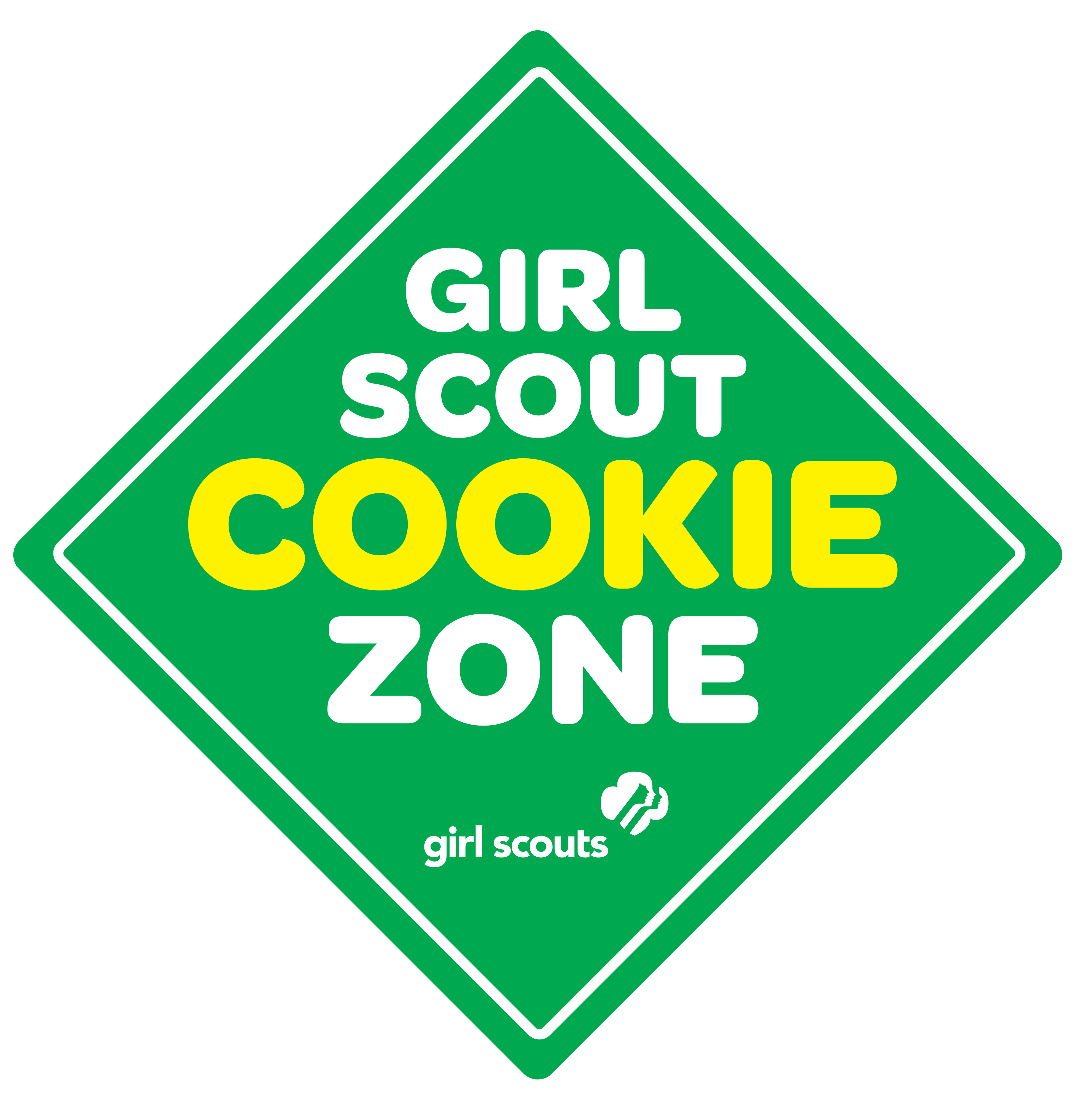 3348x3378 Clip Art Girl Scout Clip Art