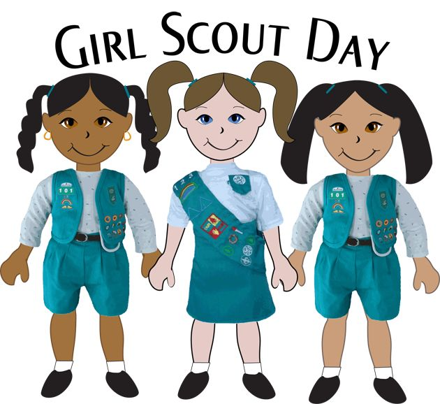 630x578 38 Best Girl Scout Clipart Images On Brownie Girl