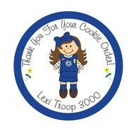 190x190 Thank You Cards Girl Scout Cookies Clip Art Free Image