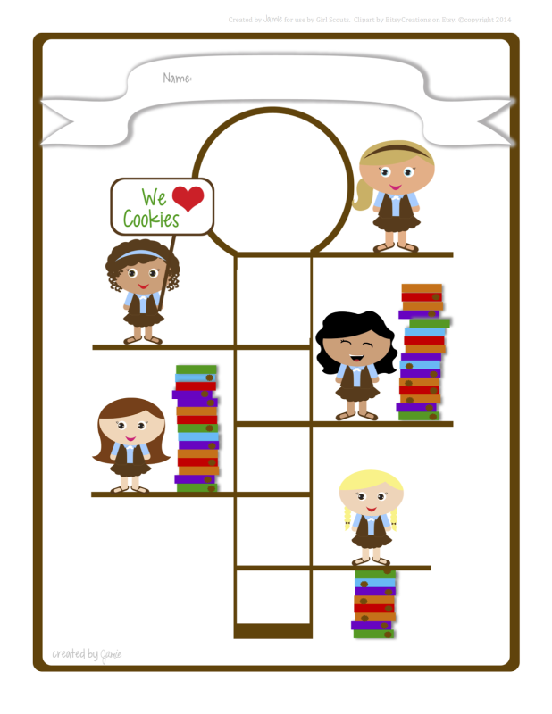 618x800 Girl Scout Cookie Clip Art