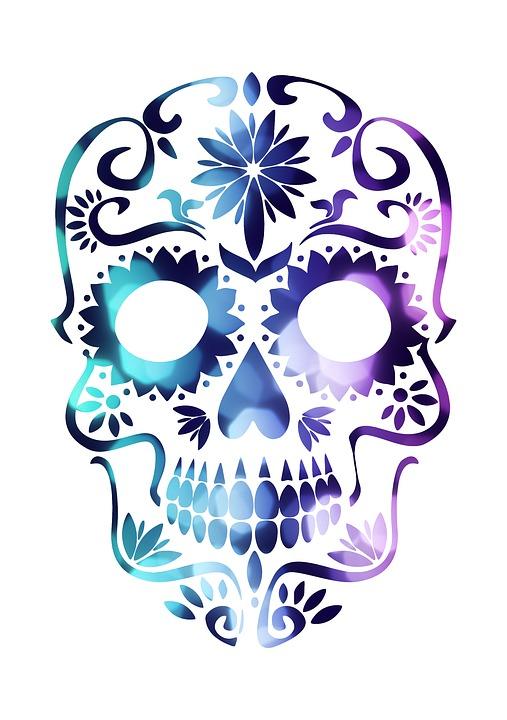 507x720 Female Skull Cliparts