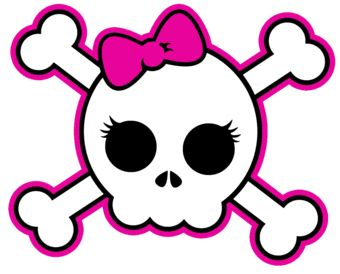 340x274 Girly Skull Halloween Girly, Tattoo And Sugar Skulls