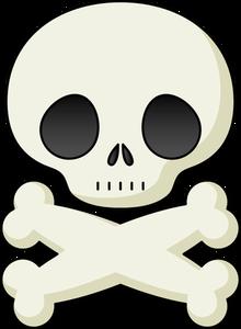 220x300 15305 Skull And Bones Clip Art Public Domain Vectors
