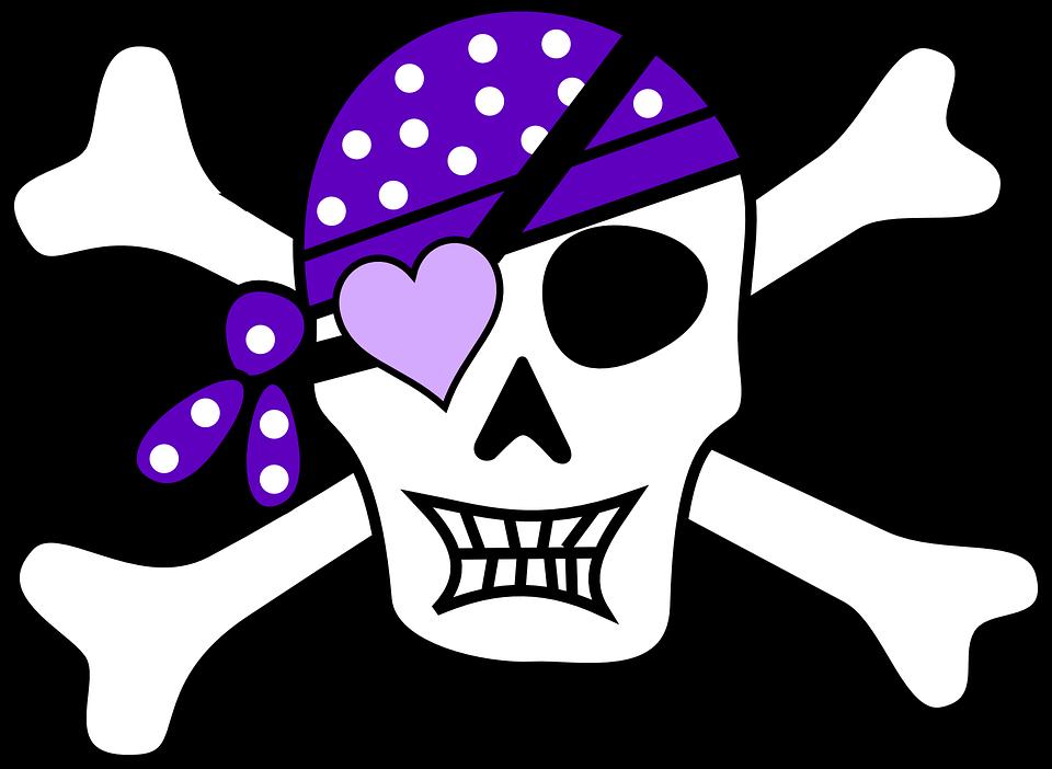 960x702 Jolly Roger Skull Purple ~ ~ Jolly Roger ~ ~