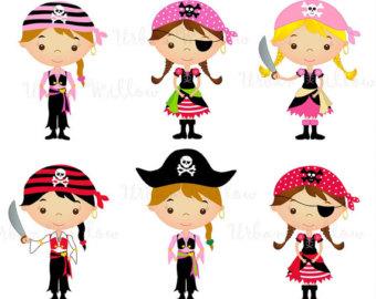 340x270 Pirate Girl Art Etsy