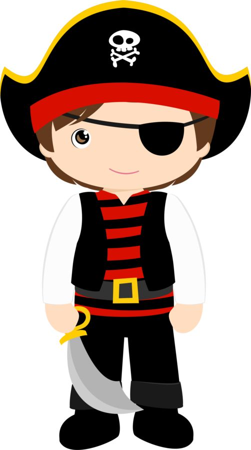 502x900 Baby Pirate Clipart