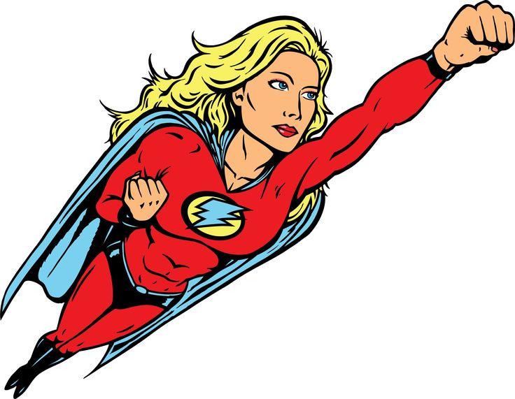 736x571 Women Superhero Clipart