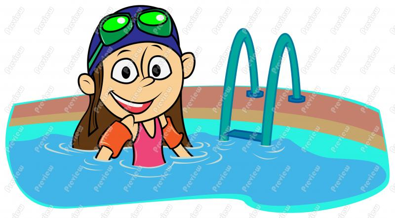 800x442 Swimming Cartoons Clipart