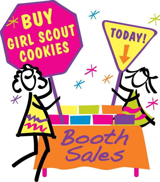 544x616 Girl Scout Cookie Booth Clip Art Lil K's Girl Scouts