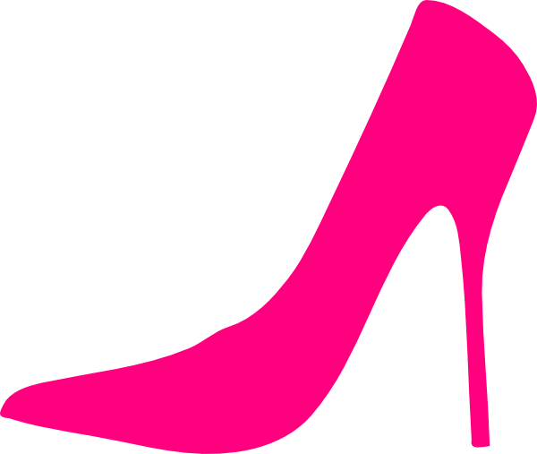 600x507 Pink Shoes Clipart