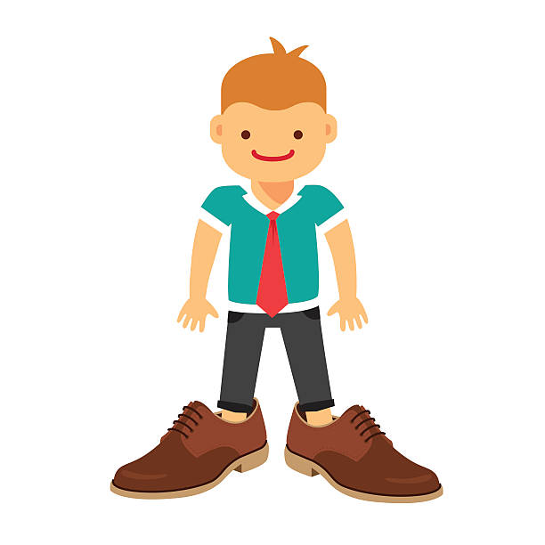 612x612 Collection Of Boy Wearing Shoes Clipart High Quality, Free