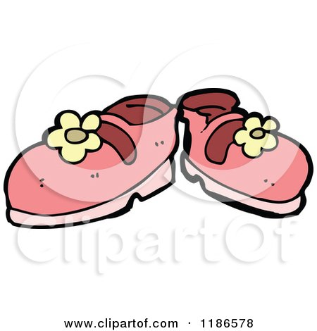 450x470 Royalty Free (Rf) Clipart Of Girls Shoes, Illustrations, Vector