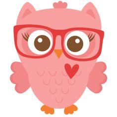 236x236 Free Girly Owl Clip Art