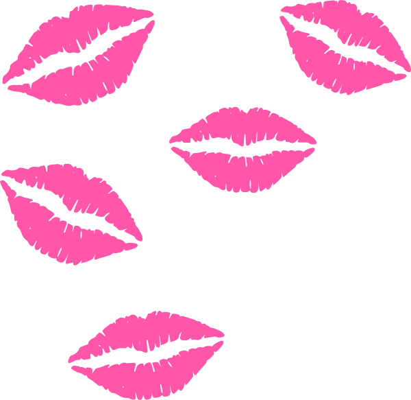 600x583 Lips Clipart Girly