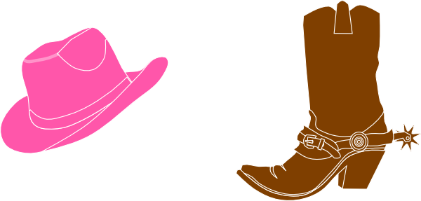 600x287 Boots Clipart Girly