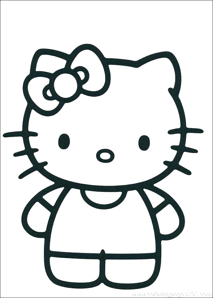 731x1024 Free Hello Kitty Coloring Pages Hello Kitty Coloring Pages