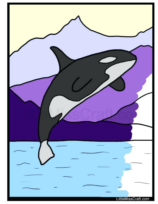 612x792 Whale Coloring Pages Humpback Whale Pictures To Color Humpback