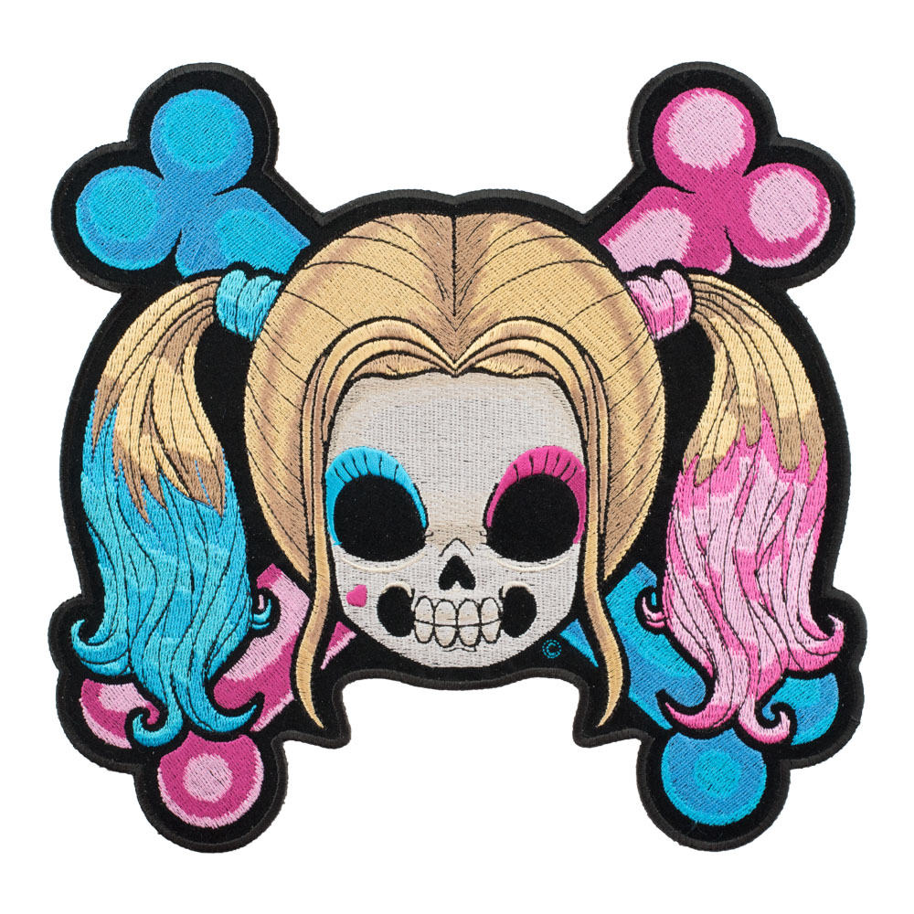1000x1000 Baby Girl Skull Amp Crossbones Patch Ladies Back Patches