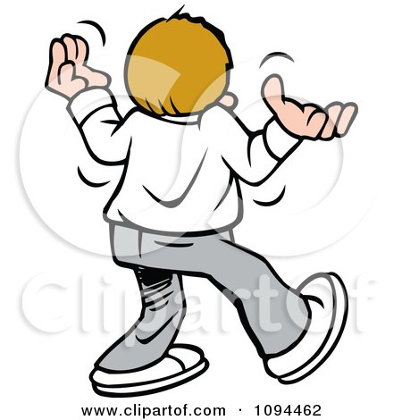 450x470 Clipart Disgruntled Teenager Giving Up Walking Away And Shrugging