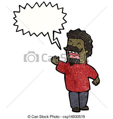 449x470 Cartoon Man Giving Speech Vector Clip Art
