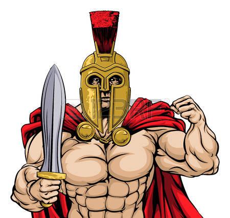 450x427 Warrior Clipart Gladiator