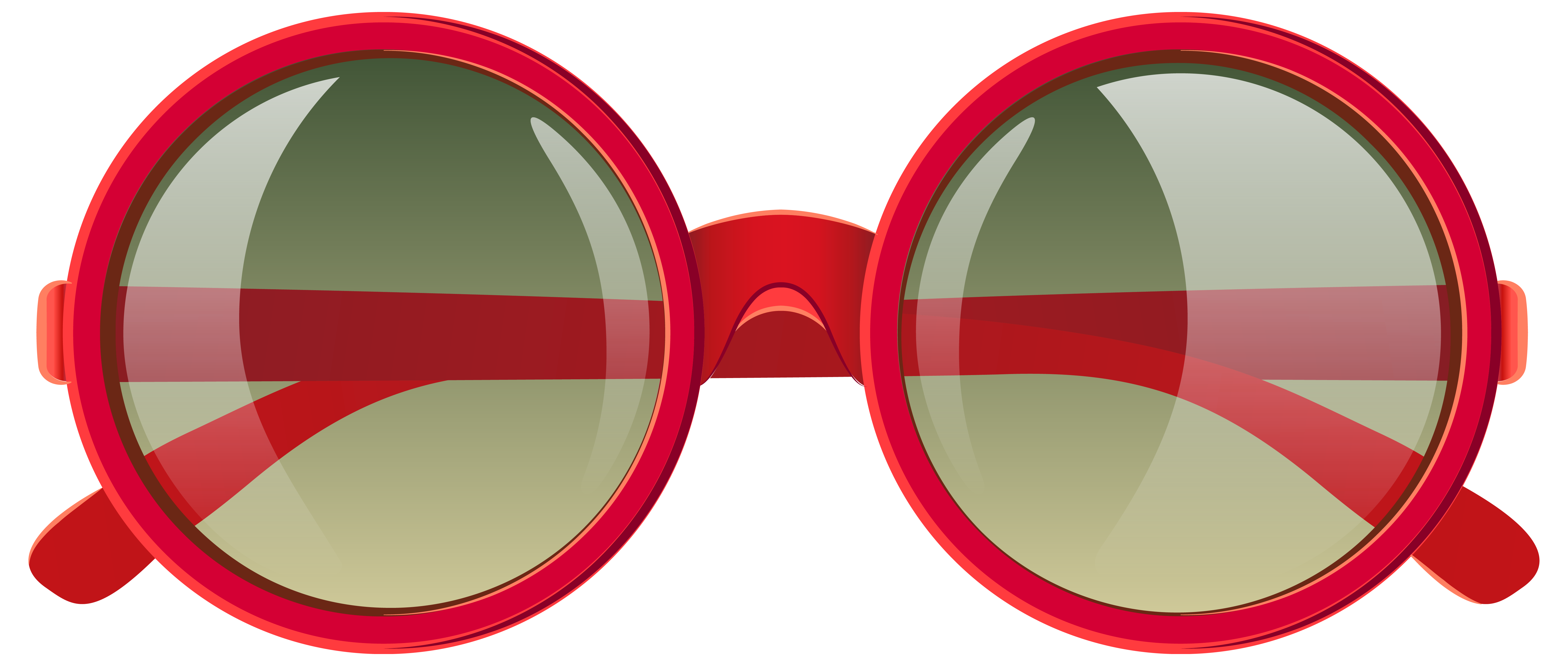 6287x2669 Cute Red Sunglasses Png Clipart Imageu200b Gallery Yopriceville
