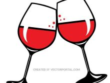 220x165 Wine Glass Clipart Glasses Of Red Wine Vector Clip Art Food