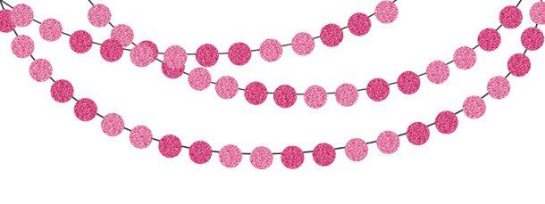 610x229 Pink Glitter Clipart