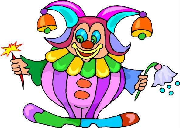 592x420 Clowns Glitter Graphics Clip Art Clowns Clip Art