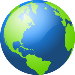 300x300 Earth Clip Art
