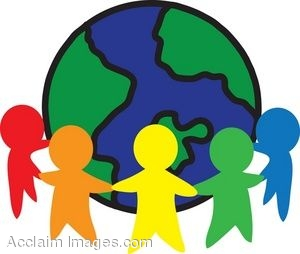 300x254 Clipart Picture Of An Global Unity Icon