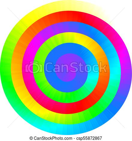 441x470 Colorful Vector Rainbow Spiral. Rgb. Eps8. Global Colors . Clip