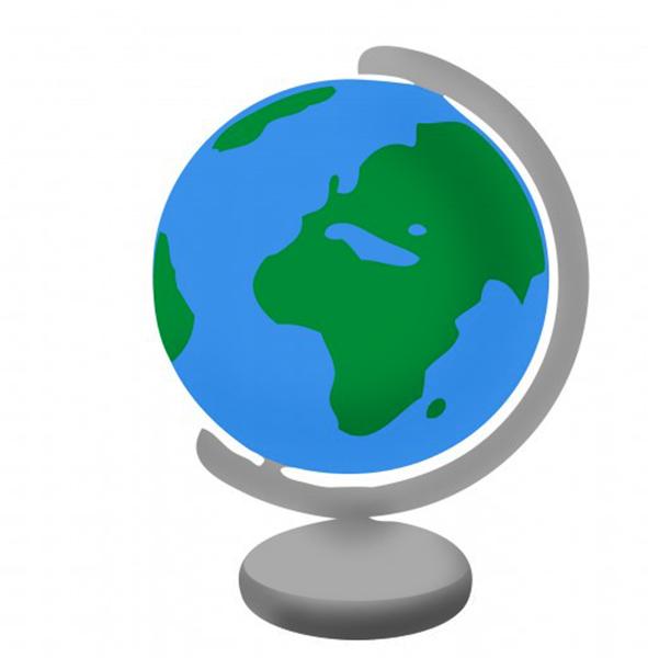 591x600 Excellent Decoration Globe Clipart Glossy Clip Art At Clker Com