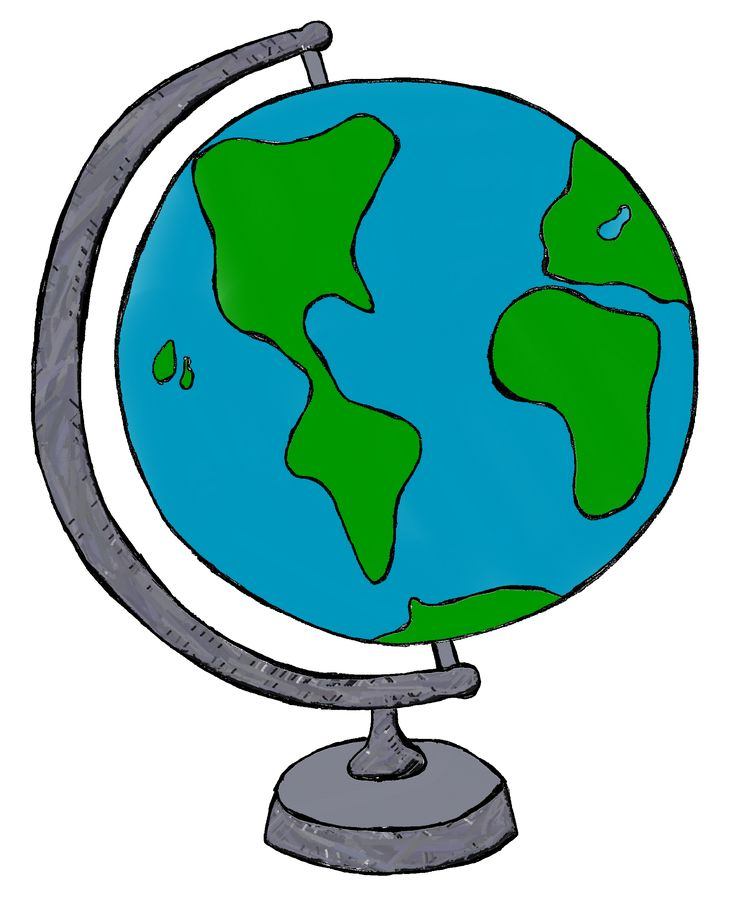736x915 Globe Clip Art Globe Clipart Images Clipartfest Things To Draw
