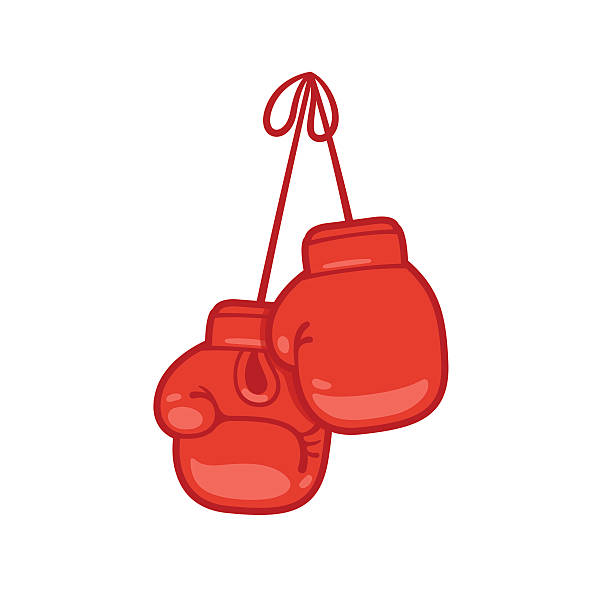 612x612 Nice Design Boxing Glove Clipart Gloves Illustrations And Clip Art