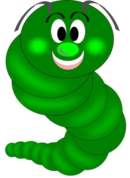 Glow Worm Clipart