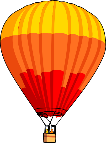 444x597 Hot Air Balloon Clip Art Hot Air Balloon Clip Art