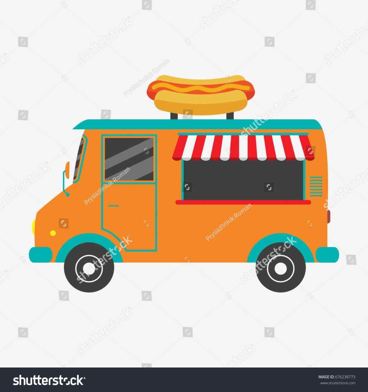 1185x1264 The Images Collection Of Fast Food Stock Vector Shutterstock Van
