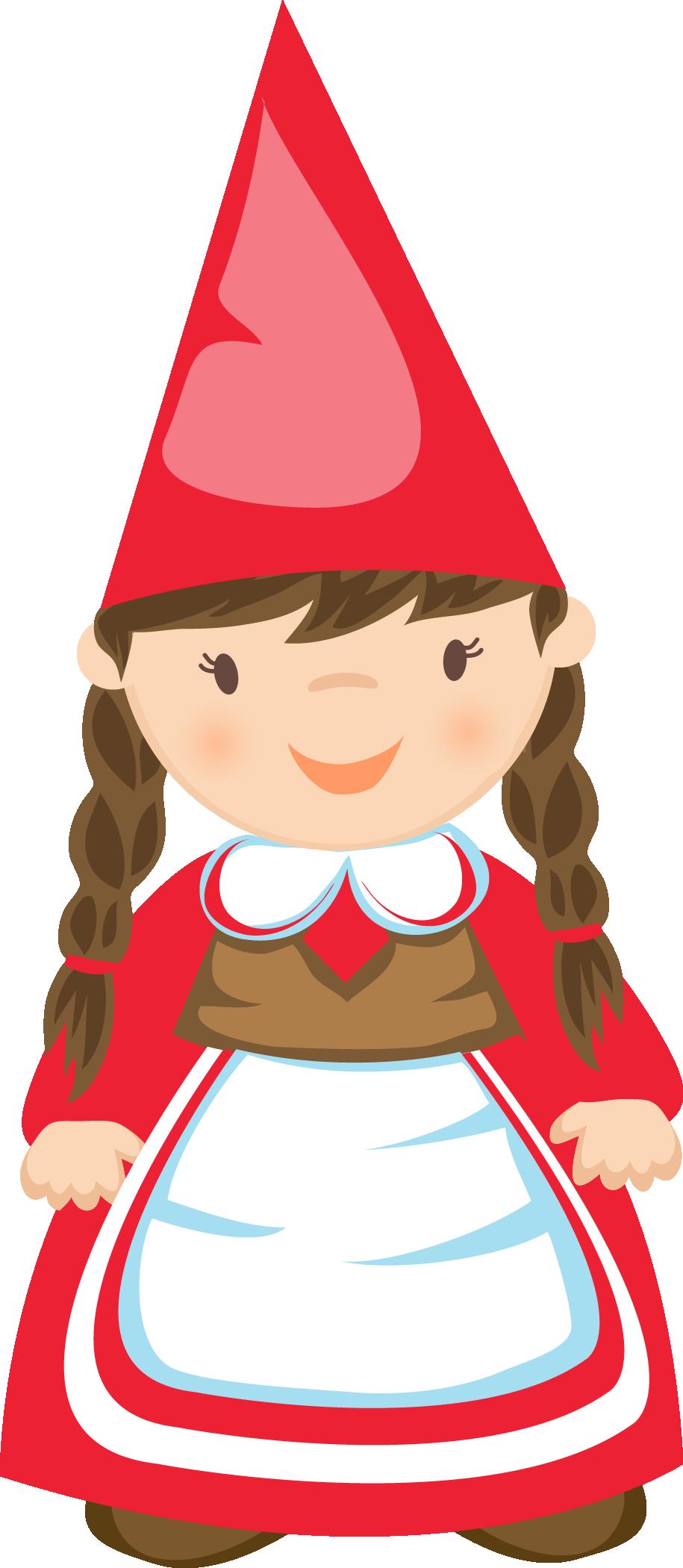 915x2100 Girl Gnome