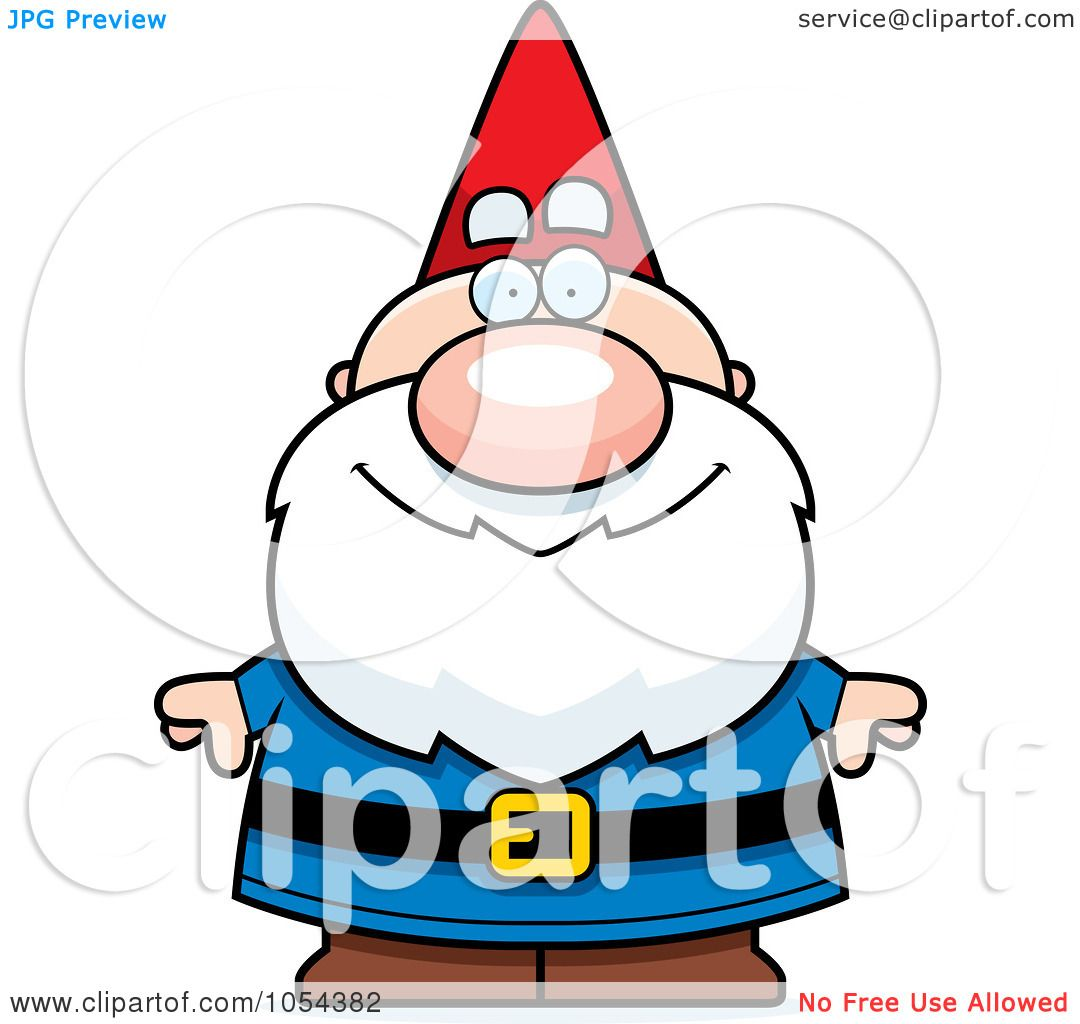 1080x1024 Royalty Free Vector Clip Art Illustration Of A Gnome By Cory