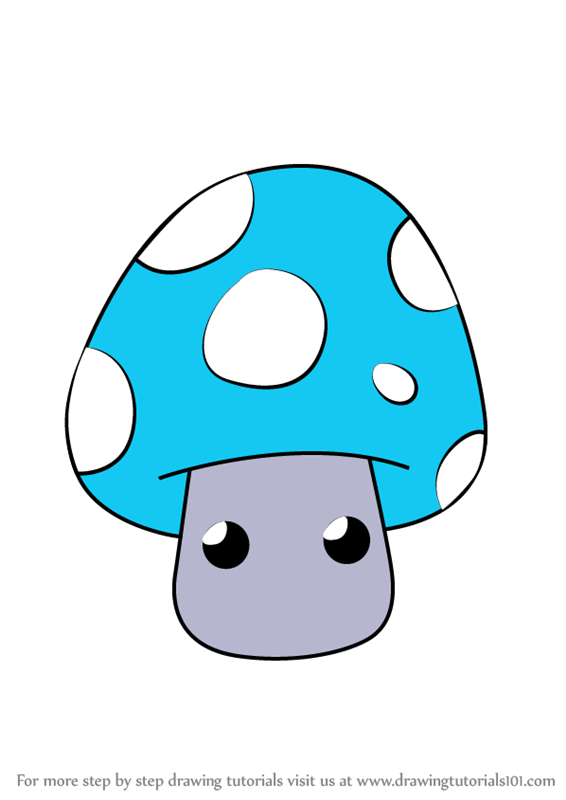 566x800 Learn How To Draw Chibi Shroom From Gnomeo And Juliet (Chibi