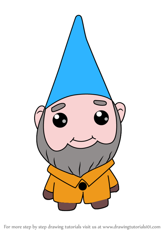 567x800 Learn How To Draw Kawaii Benny From Gnomeo And Juliet (Kawaii